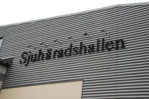 Sjuhäradshallen förvandlas till ett gymnastikens hus