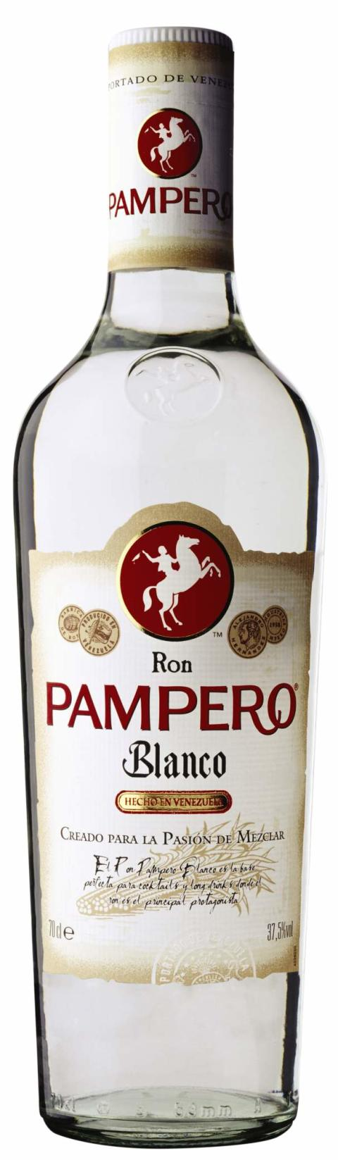 RON PAMPERO® BLANCO, 70 cl 37,5 Vol %