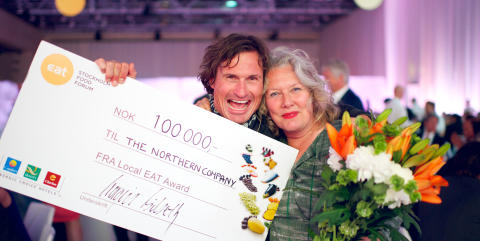 Nordisk tång vinnare av Local EAT Award