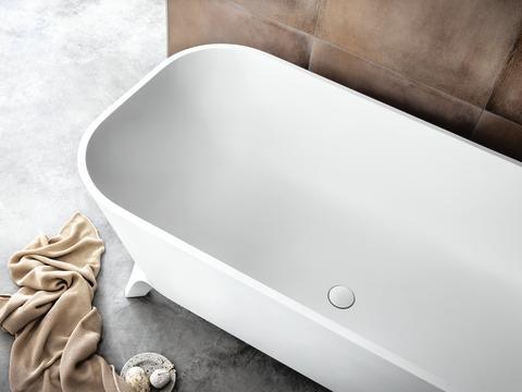 Svedbergs badkar Savon i solid surface - detalj
