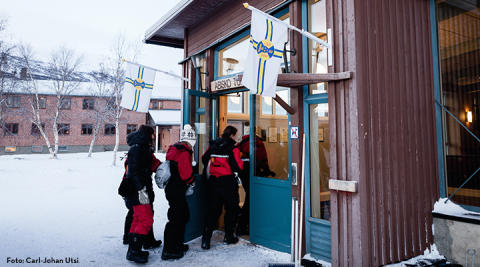 ​STF Abisko Fjällstation vinner Grand Travel Awards Ekoturismpris 2016