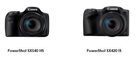 Kom ännu närmare med Canons nya, kompakta superzoom-kameror PowerShot SX540 HS och PowerShot SX420 IS