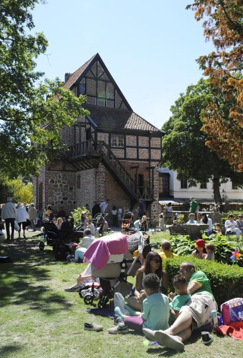 Nationaldagen på Kulturen, picknick