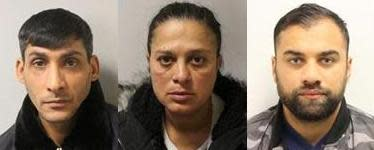 Three pickpockets jailed for numerous offences