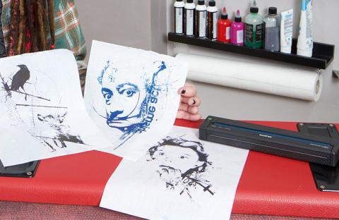 Der Brother PJ-Drucker wird zu einem unerlässlichen Werkzeug für europäische Tattookünstler