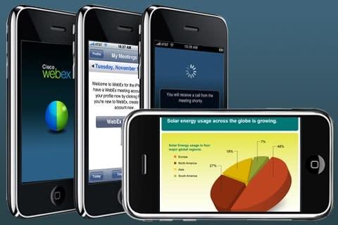Webex till iPhone