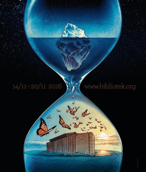 Nordisk bibliotekuke 2016 Årets plakat (Stor)