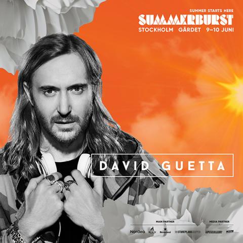 David Guetta och Nervo klara för Summerburst i Stockholm!