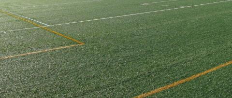 Vellinge kommun vidtar åtgärder för fräschare fotbollsplan