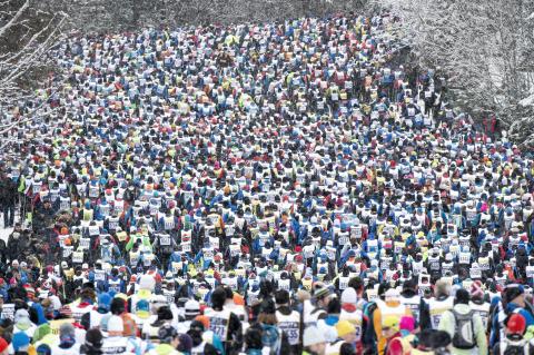 Över 60 000 anmälda till Vasaloppets vintervecka 2017