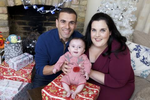 Loving mum joins stars at charity Christmas Carol Service