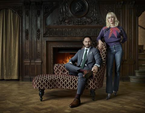 FARTBLINDA - Matias Varela og Julia Ragnarsson i ny thrillerserie på C More. Premiere 19/8.
