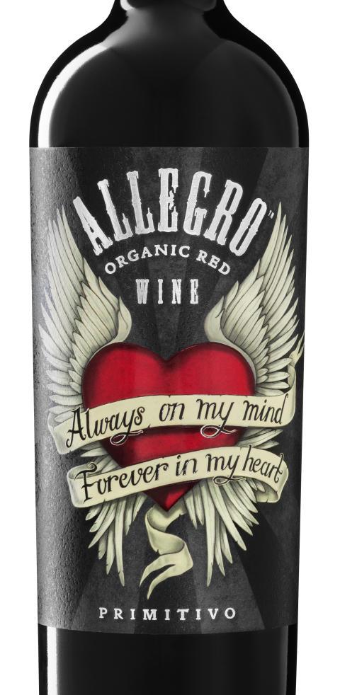 Nya ekologiska Allegro Primitivo_Beskuren etikett_The Tattoo Blend