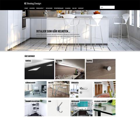 Beslag Design lanserar ny hemsida