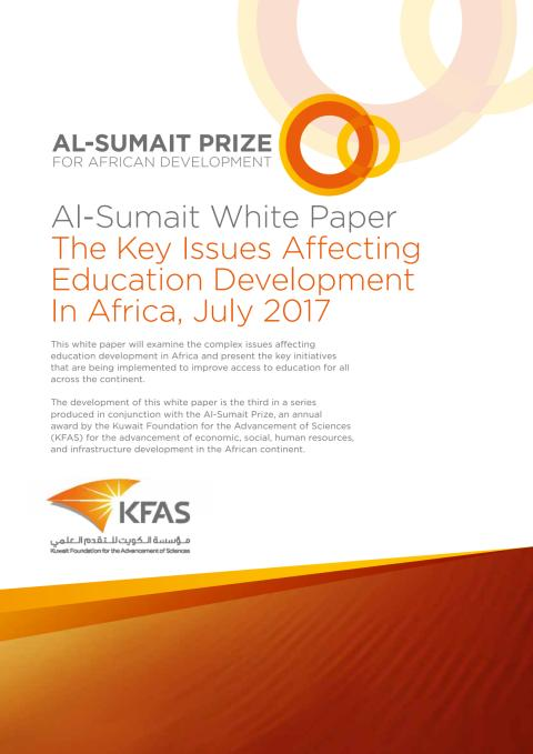 New White Paper on Education Challenges in Africa