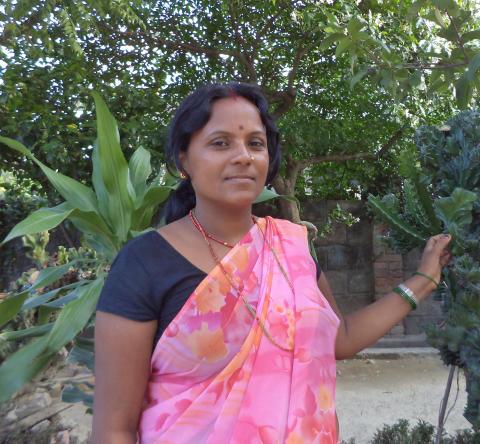 Rita Mahato från Nepal får årets Per Anger-pris