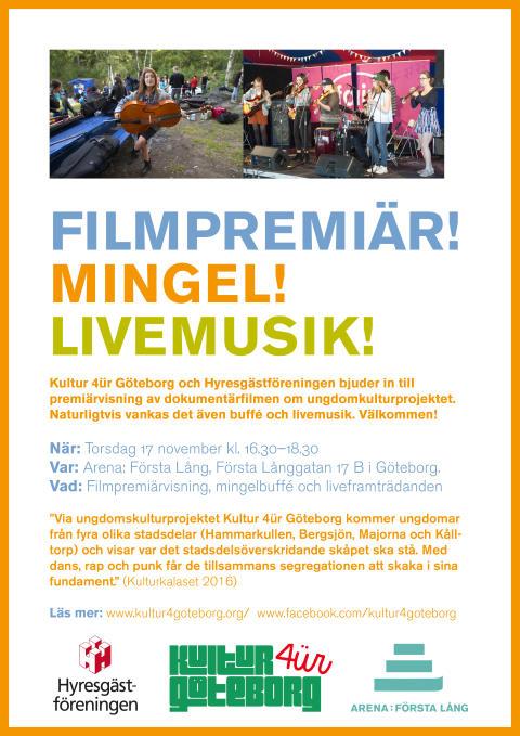Kultur für Göteborg: Filmpremiär!