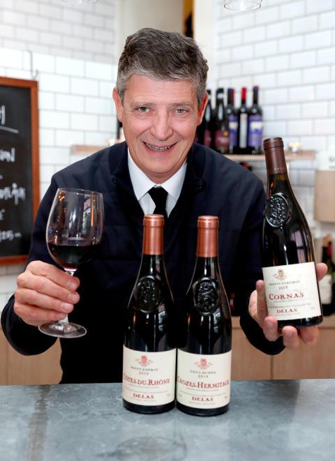 Allt om Mat:s vinpris Gyllene Glaset till Delas Frères.