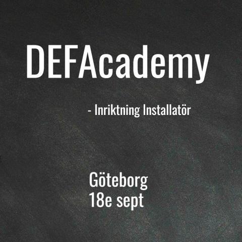 DEFAcademy, utbildning inom e-mobility