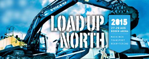 Load Up North - besök Volvo och Swecon i Boden 27-29 augusti 2015