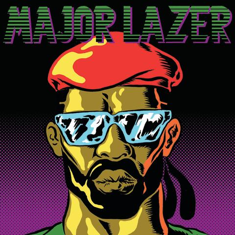 Major Lazer 22. august 2012