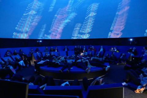 360°-Projektion in 3D-Technik