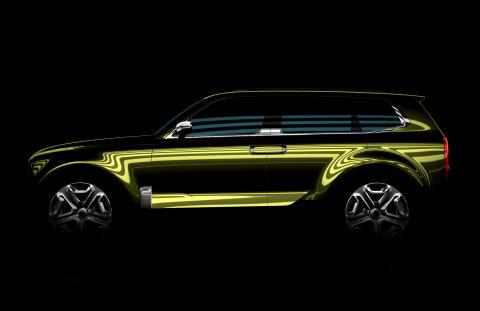 Kia SUV koncept, NAIAS 2016