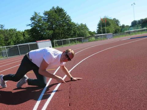 Vi kan avvattna sportanläggningar!