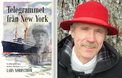 Dokumentärroman om Harry Martinson - Opulens släpper sin första bok