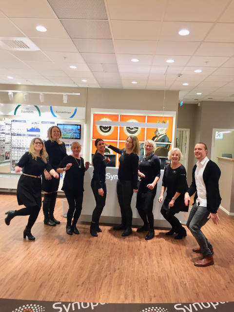 Synoptik öppnar butik på Överby i Trollhättan.