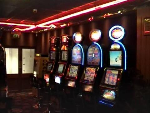 Gaming machines in arcade