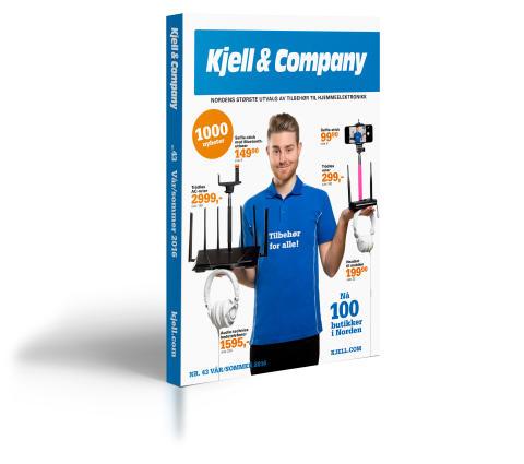 Kjell & Company fortsetter med den trykte katalogen