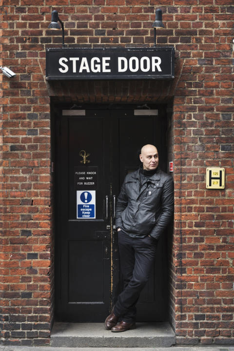 Fred Johanson - stage door, London