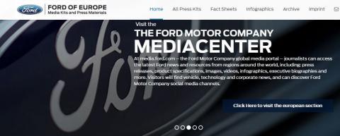 Ford online press kit center