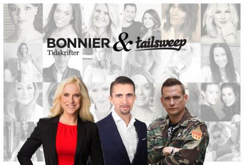 Bonnier Tidskrifter och Tailsweep kraftsamlar – skapar Nordens största influencernätverk