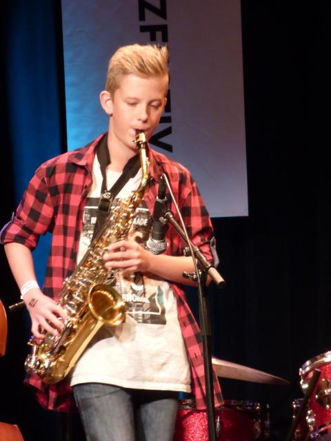 Kids in Jazz på Victoria Oslo Jazzfestival 130817