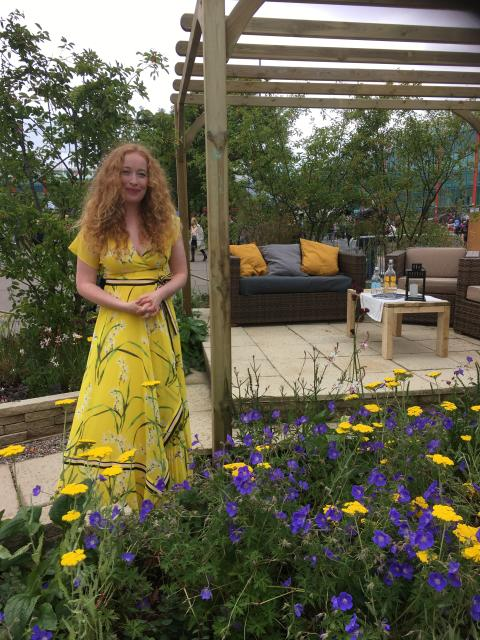Call the Midwife star launches charity garden at BBC Gardeners' World Live