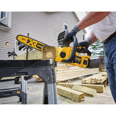 DEWALT® Launches 20V MAX* Compact Cordless Chainsaw