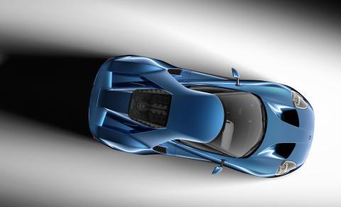 Nye Ford GT ble for første gang vist på den internasjonale bilutstillingen i Detroit