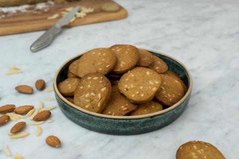 Recept: Franska pepparkakor med mandel