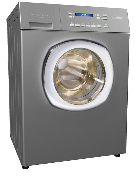Podabs nya StreamLine-tvättmaskin; smart, energisnål och tyst