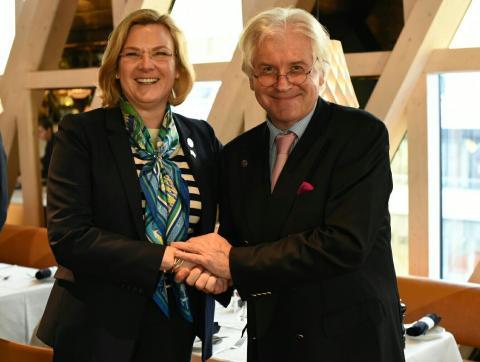 Globalt forskningssamarbete mellan Karolinska Institutet och MSD invigs