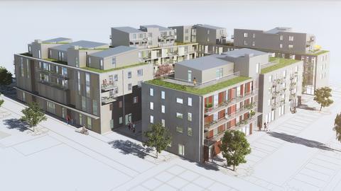 Förbo först ut i nya stadsdelen Kongahälla i Kungälv
