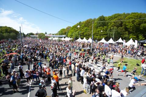GöteborgsVarvet har samlat in två miljoner kronor till välgörenhet