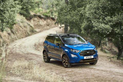 Nu kommer Ford EcoSport – kompakt og dynamisk mini-SUV fra kun 211.560 kr.