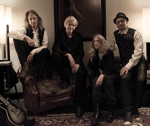 Patti Smith & Her Band till Stockholm och Ystad i sommar