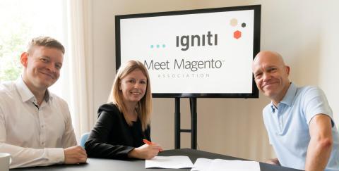 igniti ist Silber Partner der Meet Magento Association