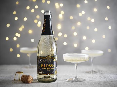 Blossa lanserar mousserande dryck gjord för vinterns festligheter.