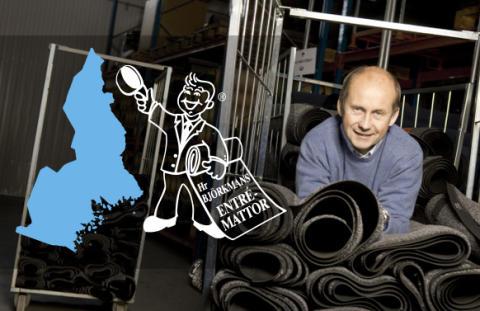 Mattserviceföretaget Hr Björkmans Entrémattor kommer till Norrbotten