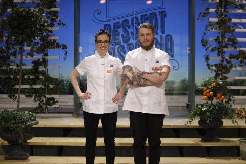 David Knutsson klar för Dessertmästarfinalen!